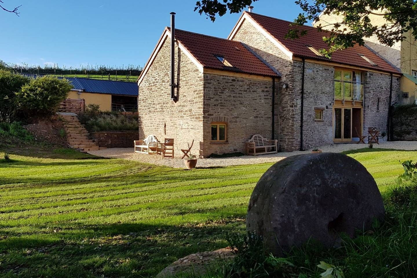 Holiday cottage New Court Cottages luxury self catering accommodation Usk, Monmouthshire, South Wales